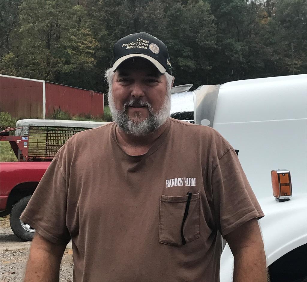 This image shows grower Patrick Daugherty.